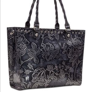 🆕🏷Patricia Nash TOTE bag: Bark leaves Collection